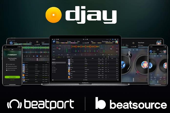 Algoriddim DJing app
