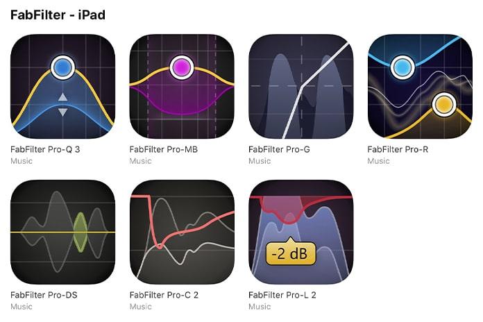 FabFilter Pro AUv3 iOS