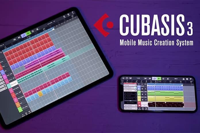 Steinberg Cubasis 3 mobile daw